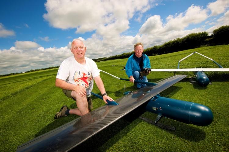 prospero graphene-coated aircraft