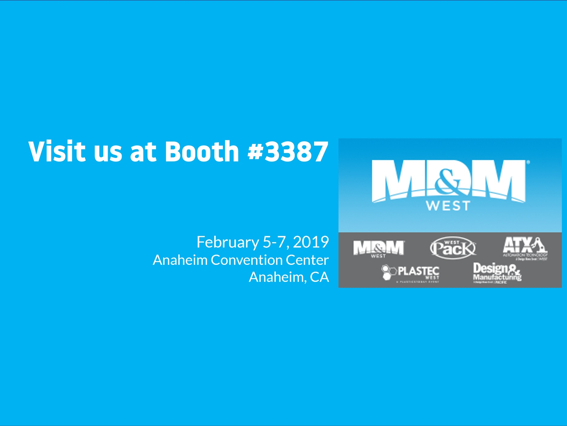 Visit Linx at MD&M West! - Visitus at Booth #3387February 5-7, 2019Anaheim Convention Center