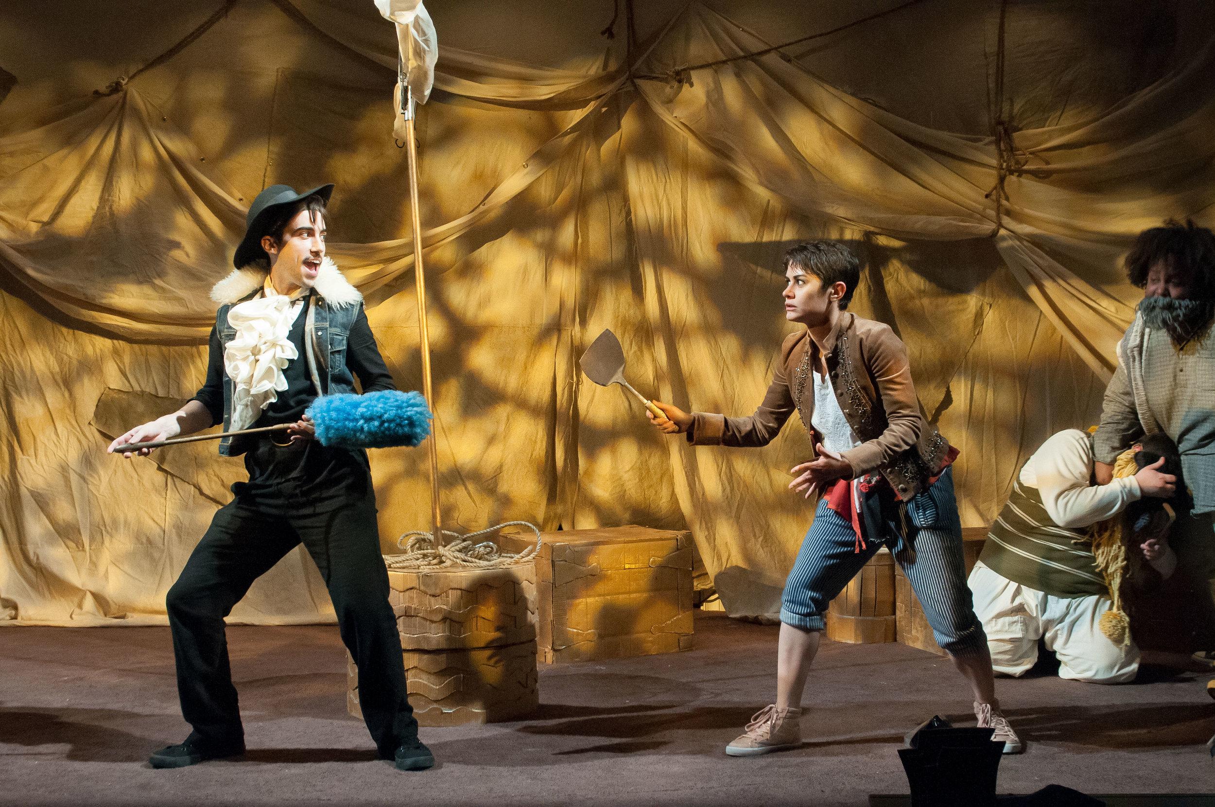 the pirate la dee da  photo by ahron r. foster