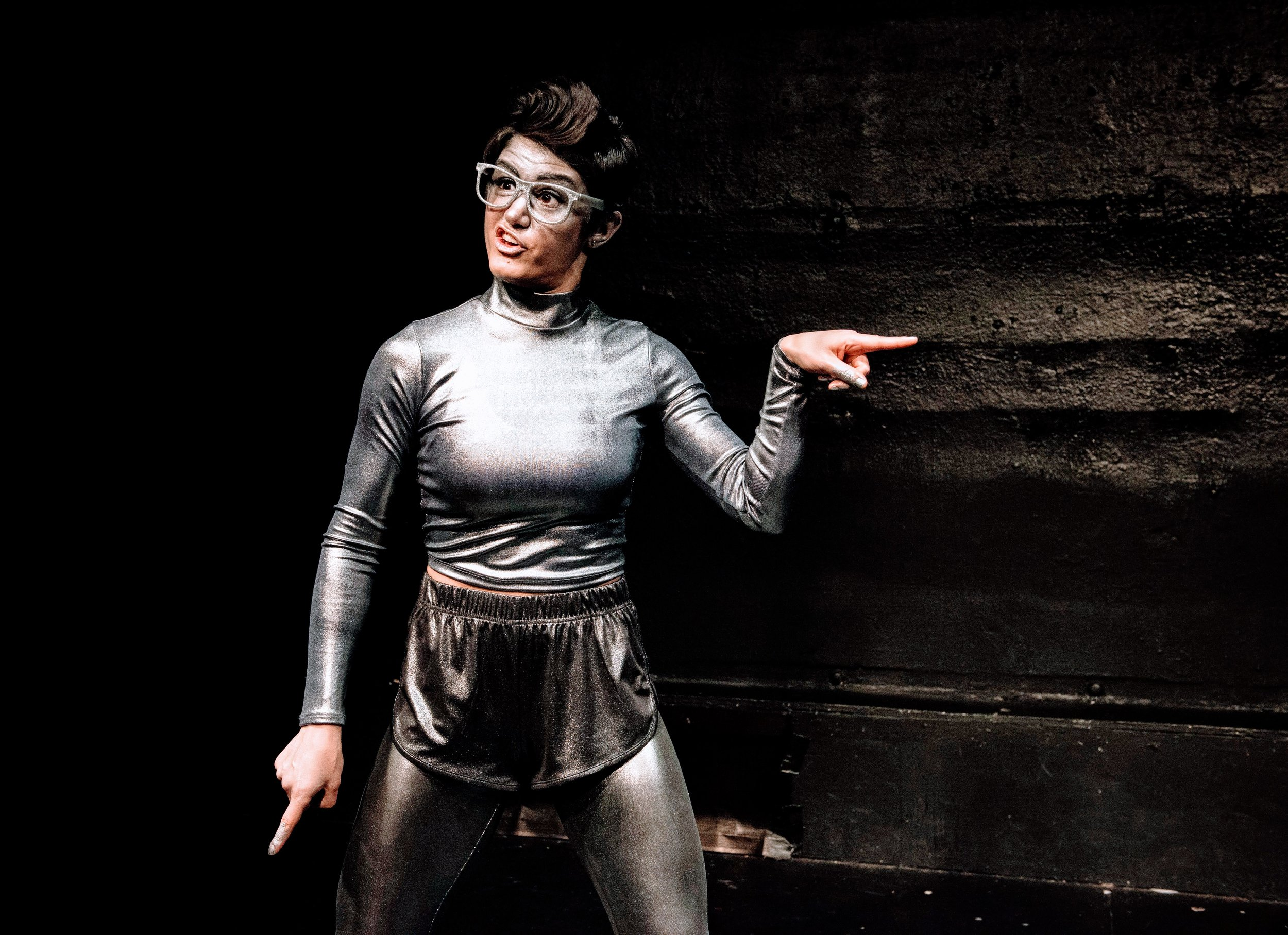 melissa mahoney is a robot, photo by marcus middleton