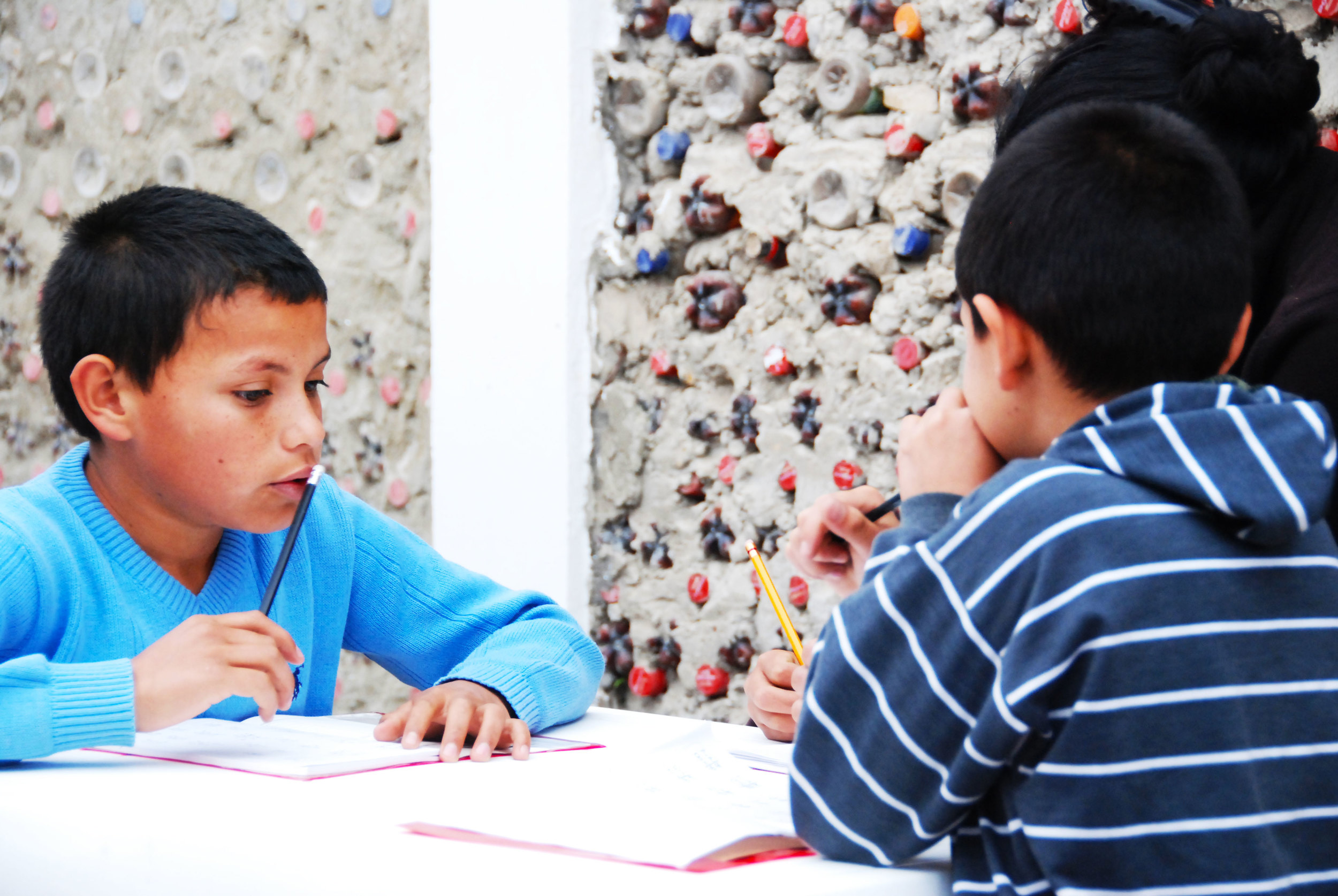 Focussing on homework during theAfter-School-Tutoring Program