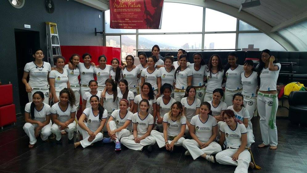 Eight young women from Playing for Freedom participated in the 2nd National Gathering of Female Capoeiristas in Bogotá, Colombia