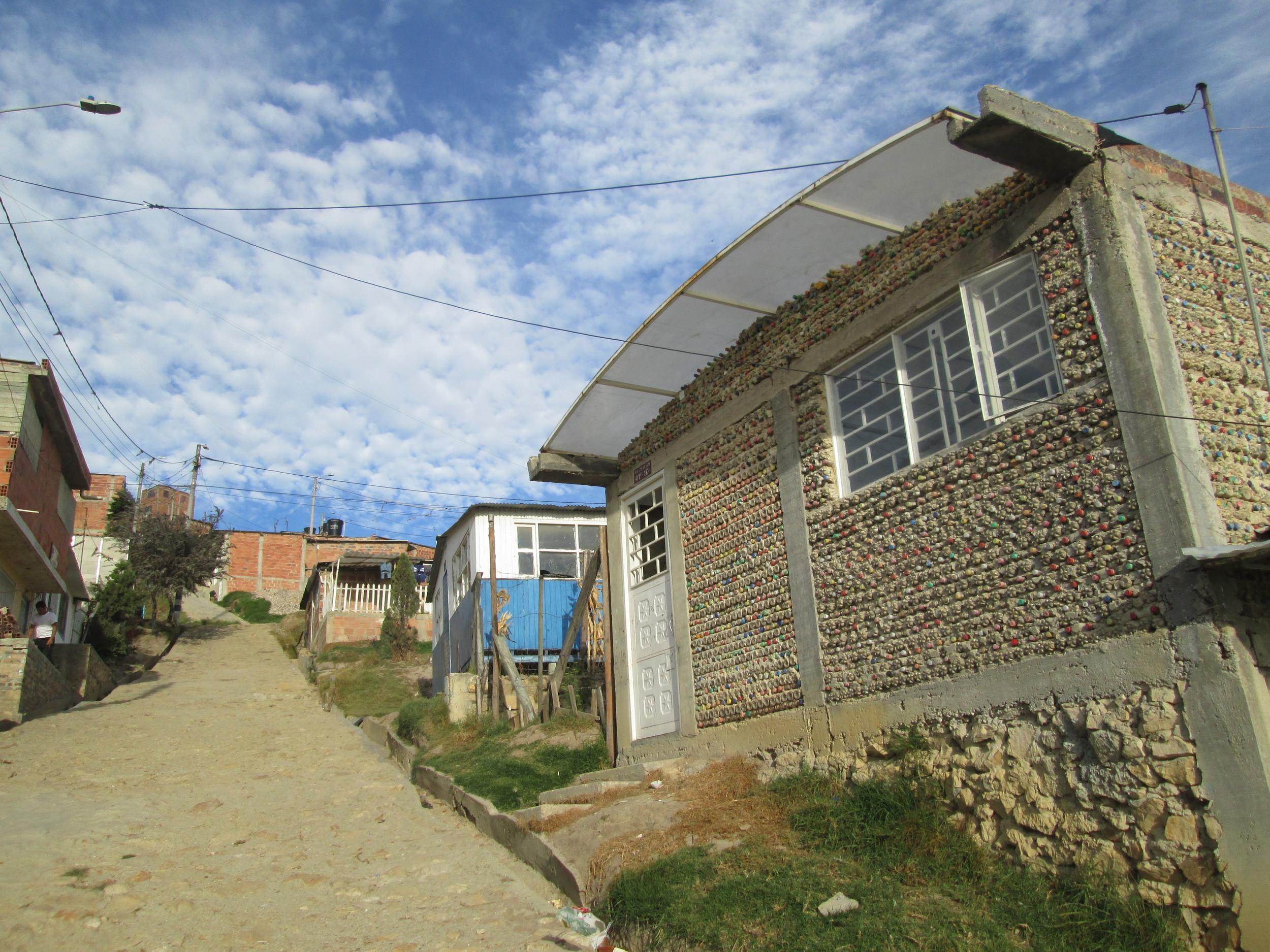 Nukanti's community center in Cazucá, on the outskirts of Bogotá.