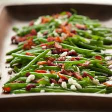 Green Beans with Almonds and Cranberries