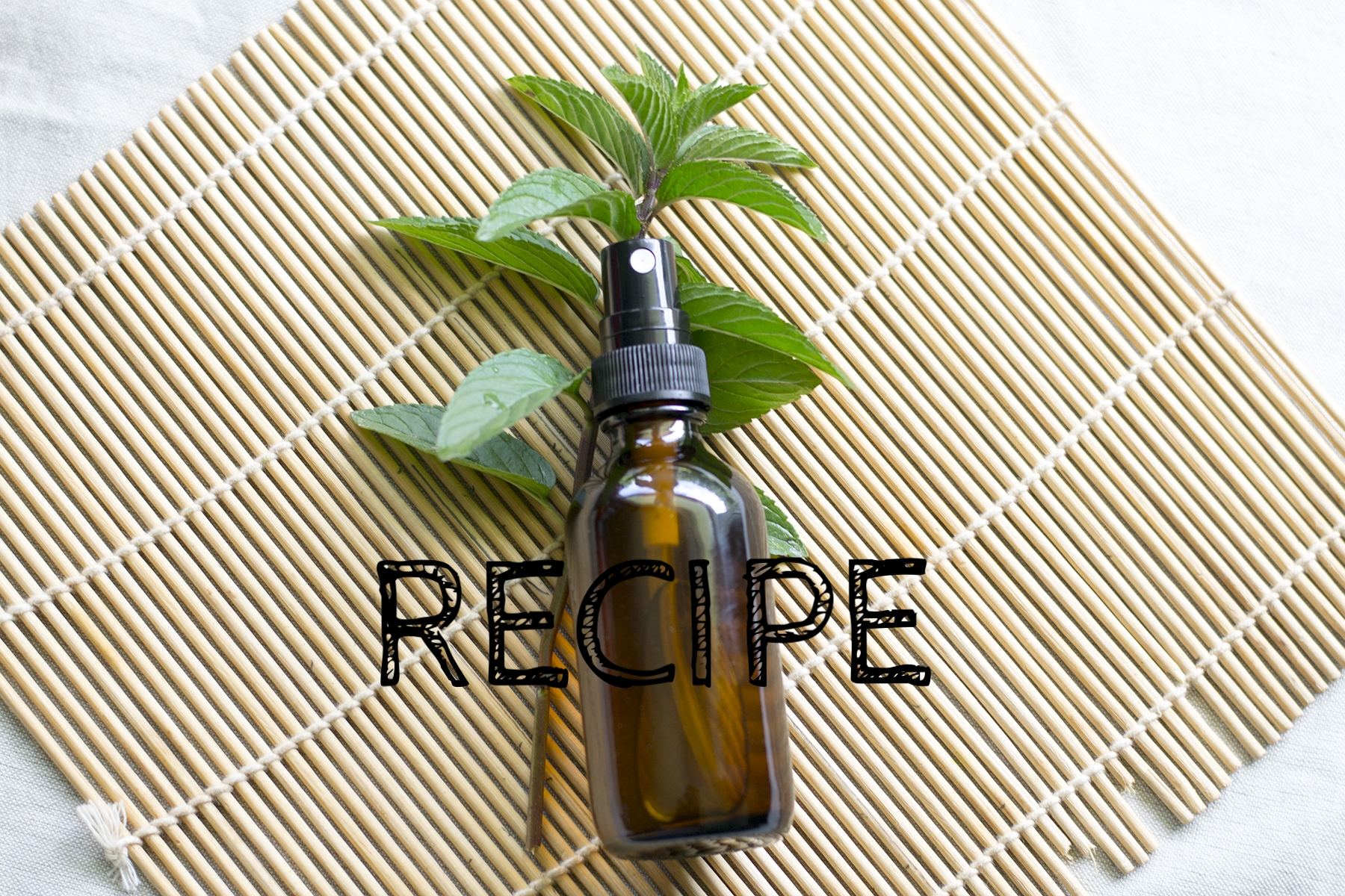 Natural Body Cooling & Garden Spray