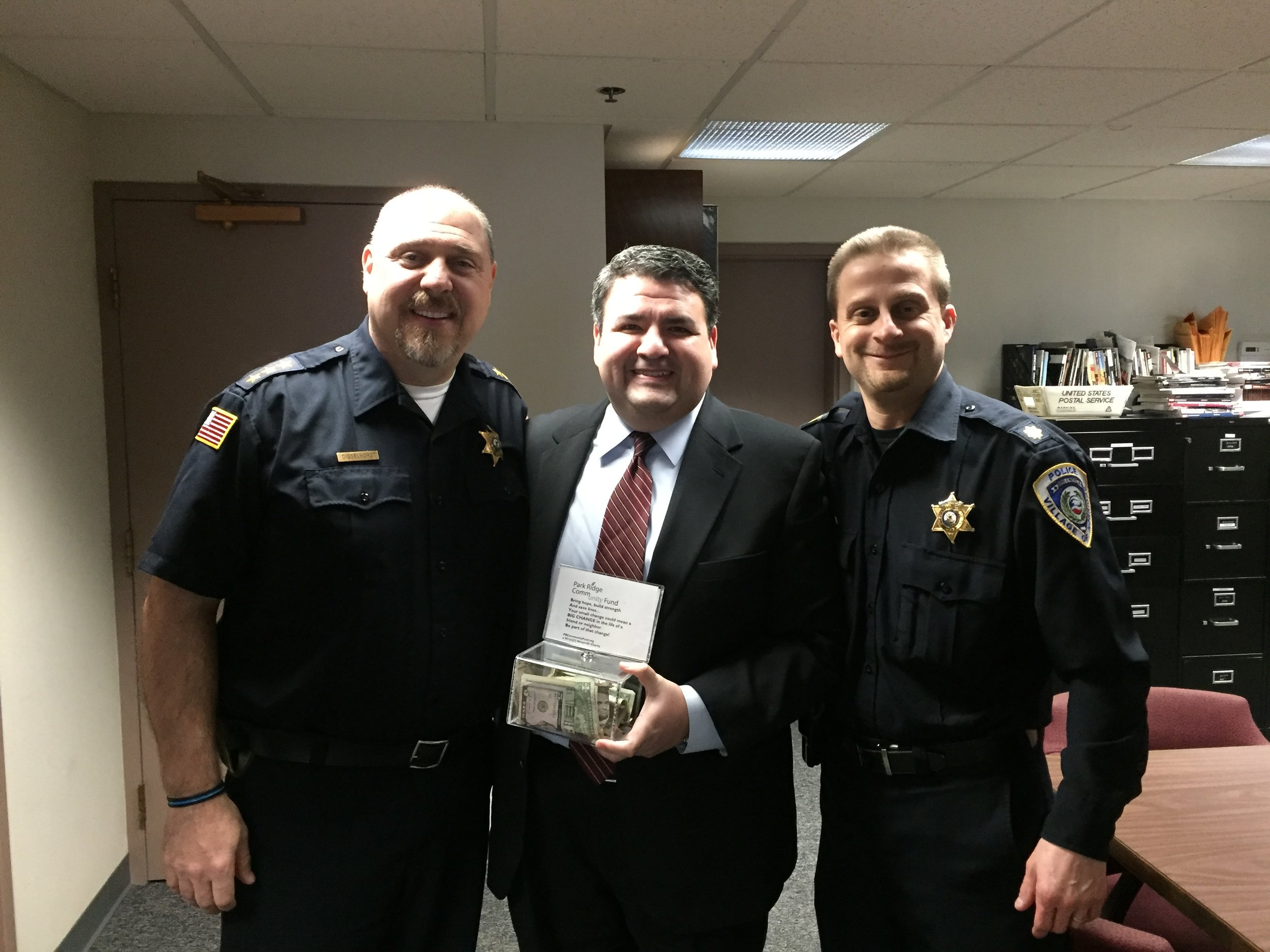 Thank you to the Village of Norridge and the Norridge PD!