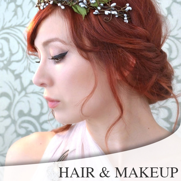 Redding Wedding Hair & Makeup