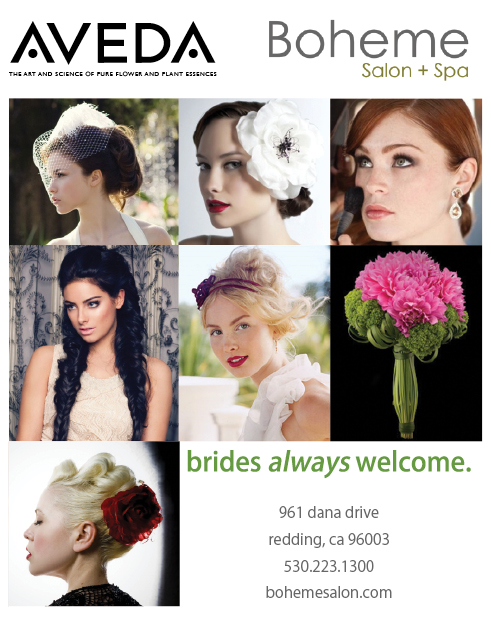 Redding Wedding Boheme Salon