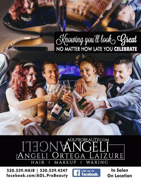 Redding Wedding AOL Pro Beauty Angeli