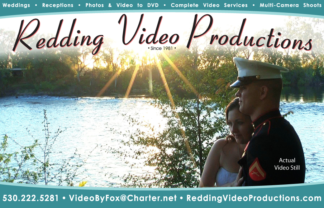 Redding Video Productions wedding video
