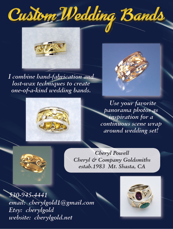 Wedding rings Custom Redding Brides