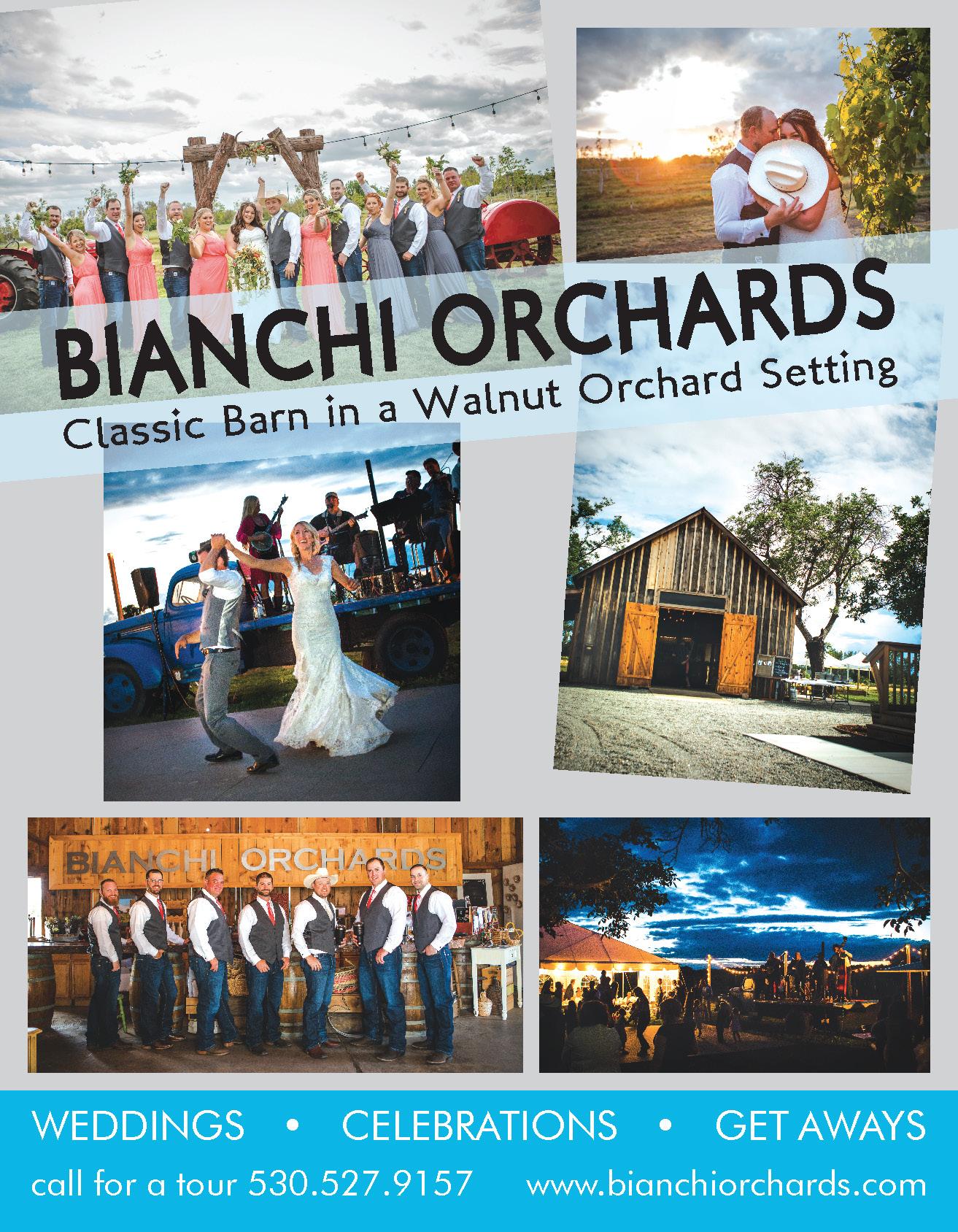 edding Wedding Bridal Guide Bianchi Orchards wedding venue classic barn