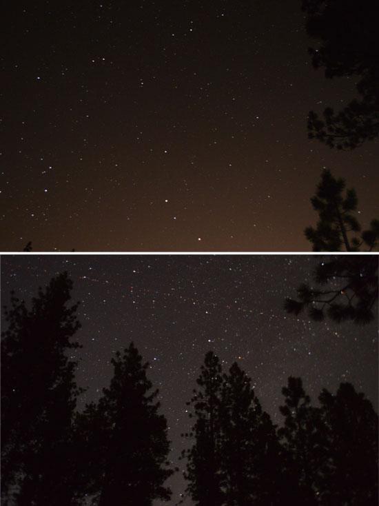 stars - long exposure