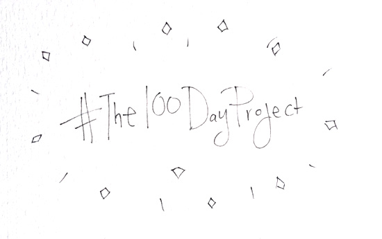100 day project // Blog-Action