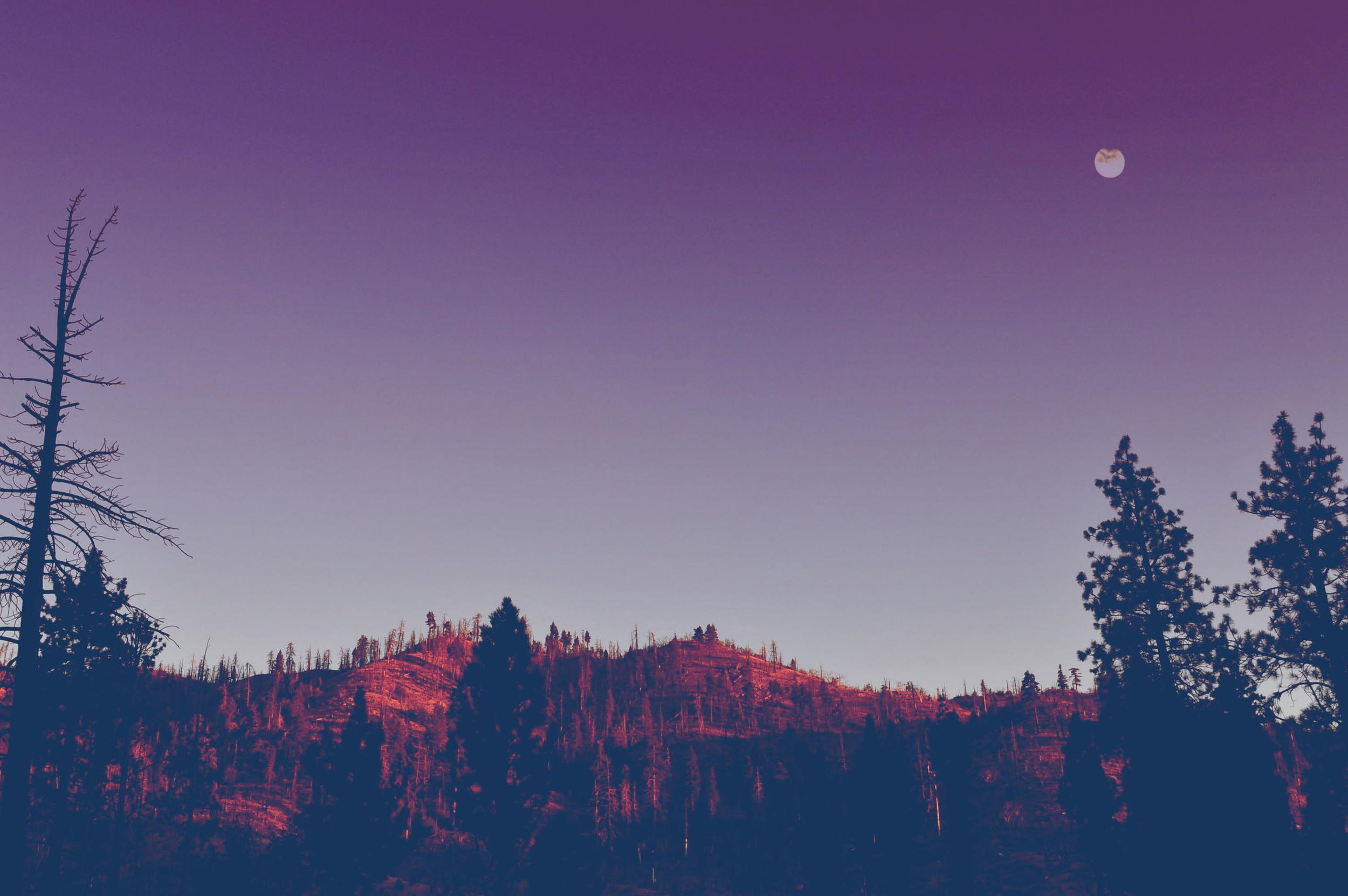 mountain moon // blog-action