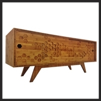 Bamboo Credenza  $1500