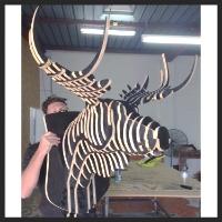 Form Ply Moose Head $450
