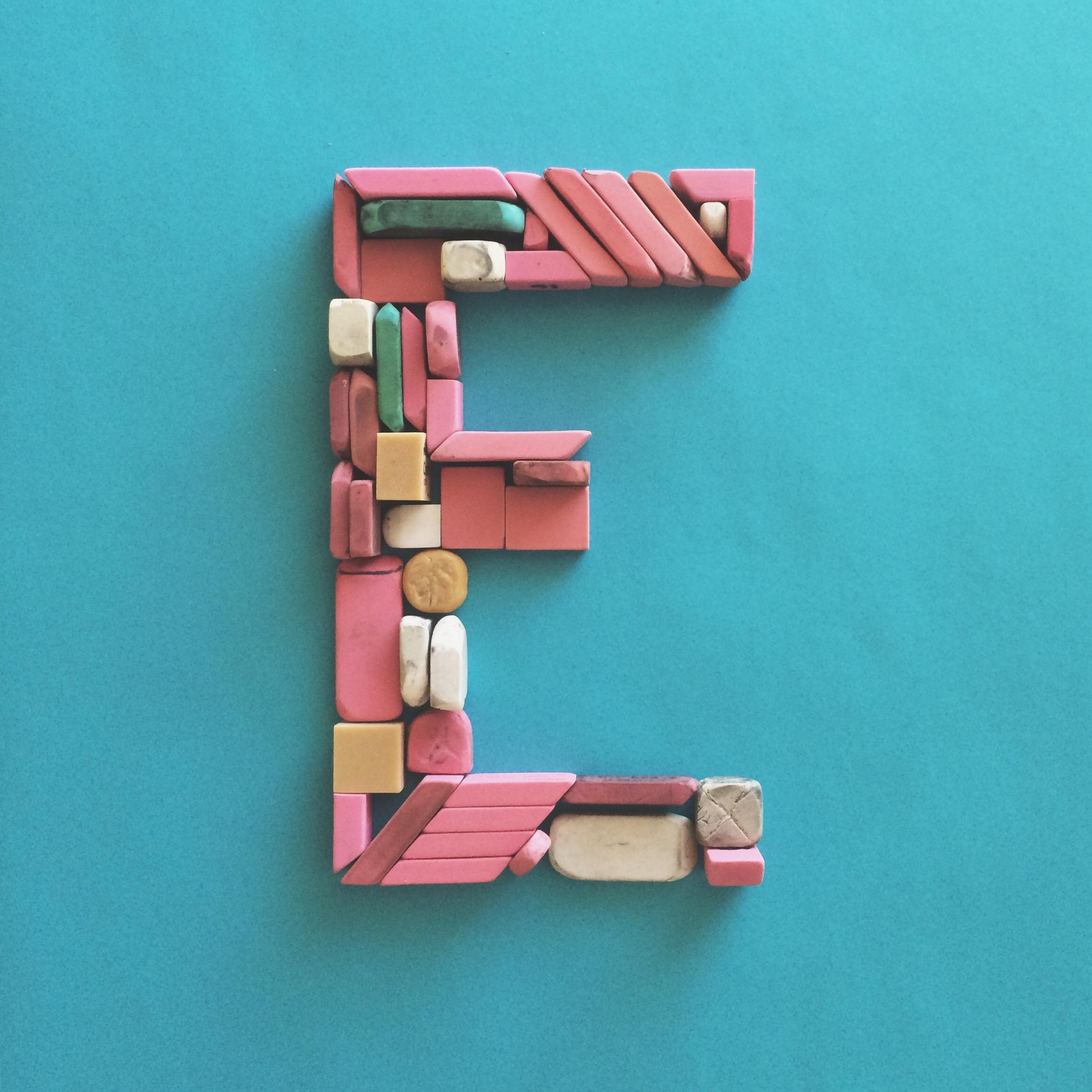 Letter Made Out Of Objects.Kolbo Alphabet Challenge A F Machelle Kolbo Design Studio
