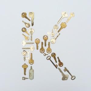 Letter Made Out Of Objects.Blog Machelle Kolbo Design Studio