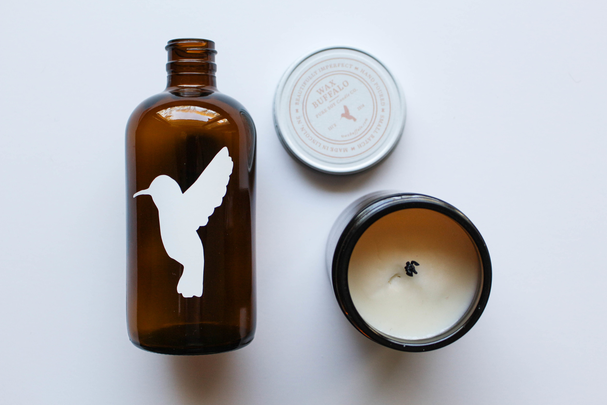 Sweet Hand-Drawn Hummingbird // Machelle Kolbo for Wax Buffalo