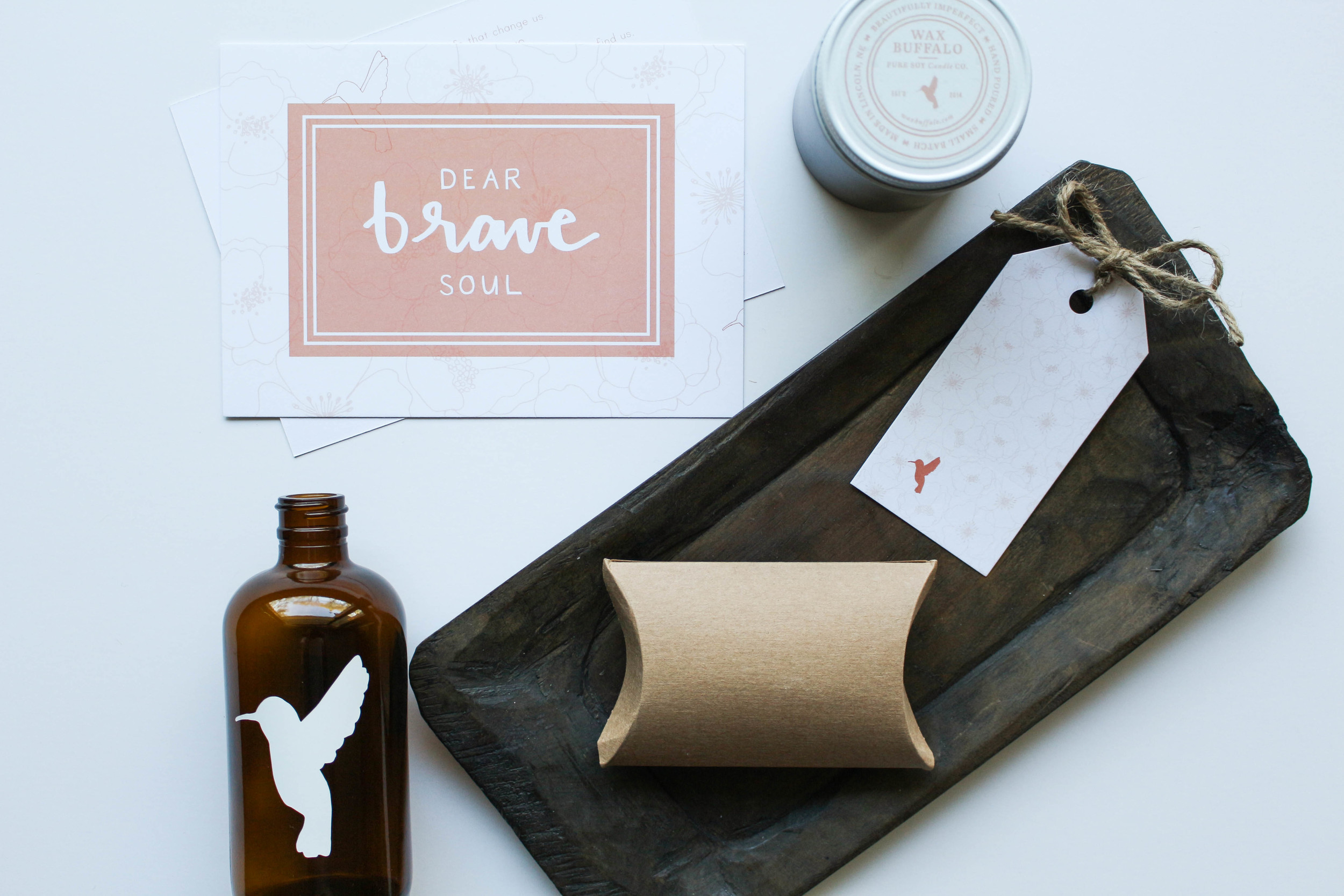 Brave Gift Set // Machelle Kolbo for Wax Buffalo
