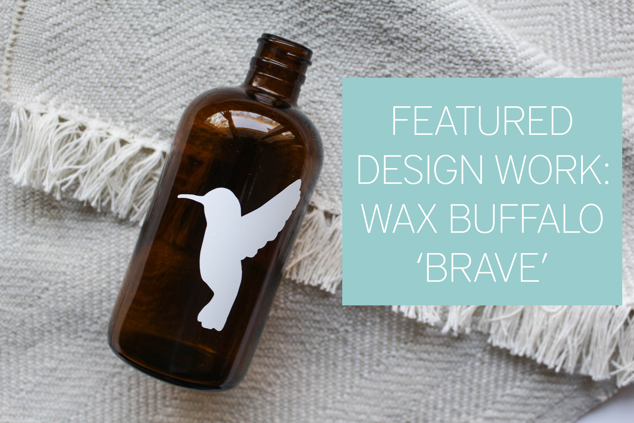 Machelle Kolbo Design Studio // Wax Buffalo 'Brave'
