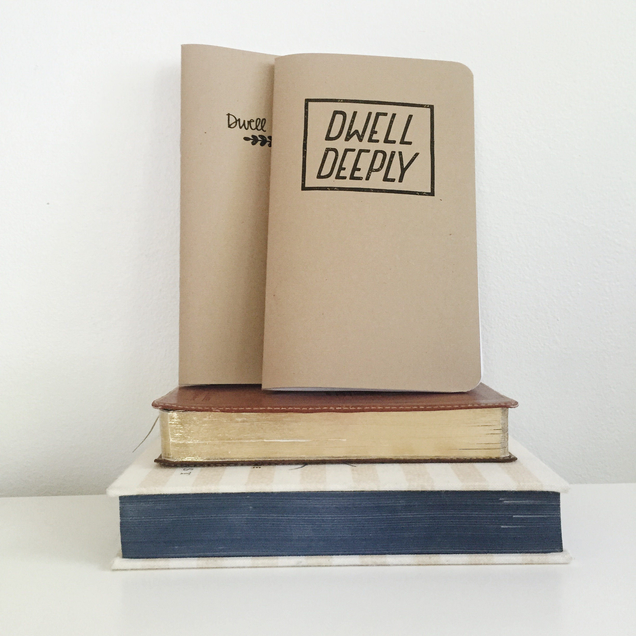 A journal + devotional book is an easy gift for graduates.