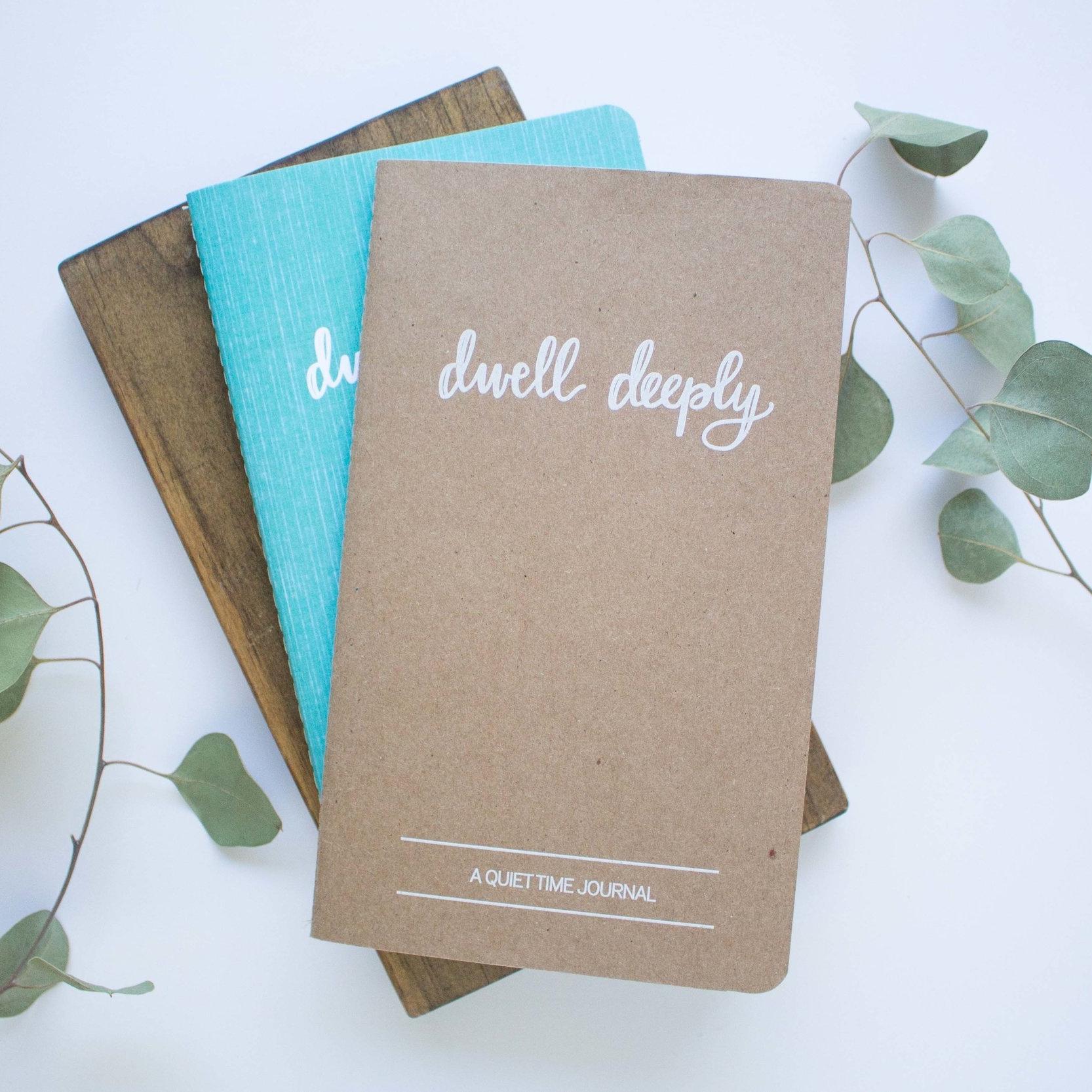 Dwell Deeply Journals | Machelle Kolbo Design Studio