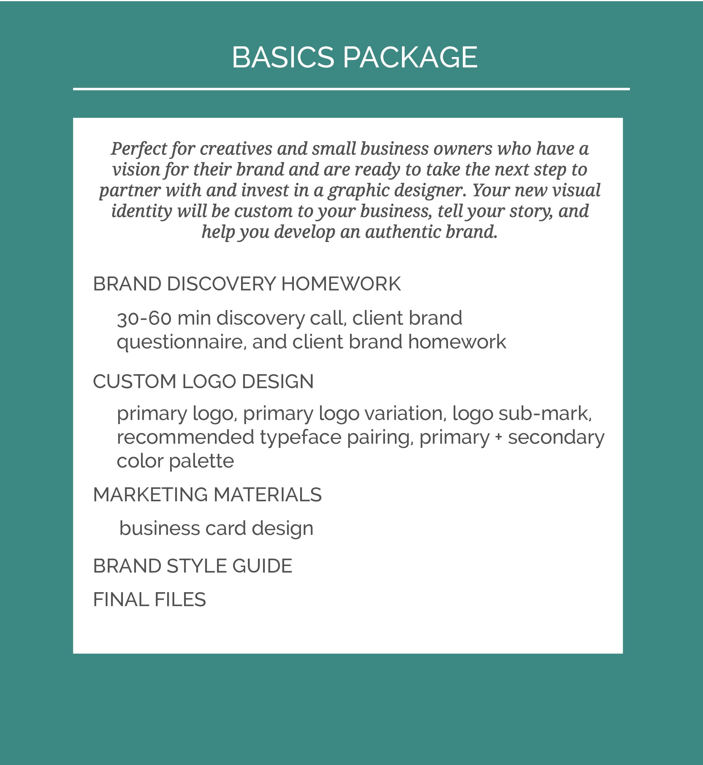 Machelle Kolbo Design Basics Package