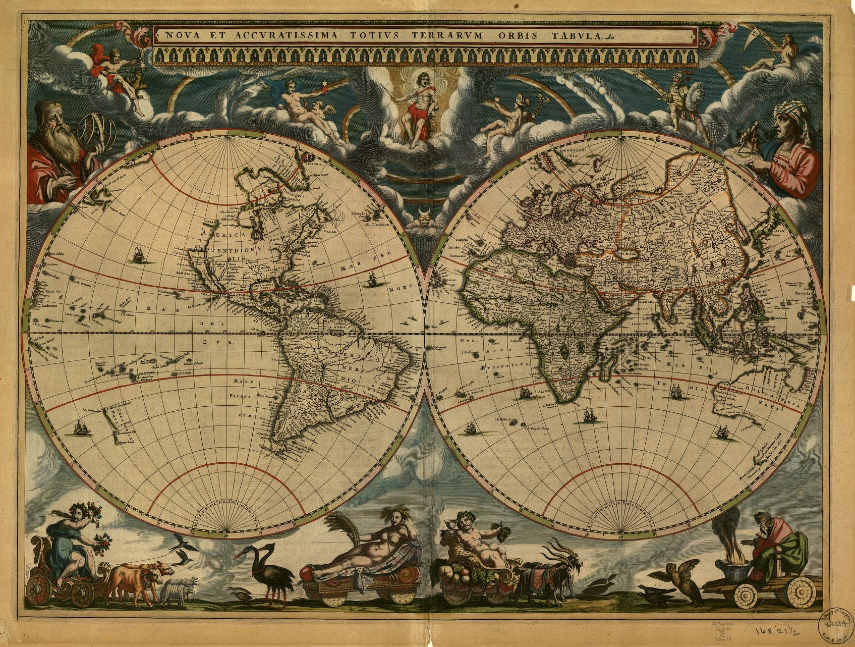 Blaeu - World