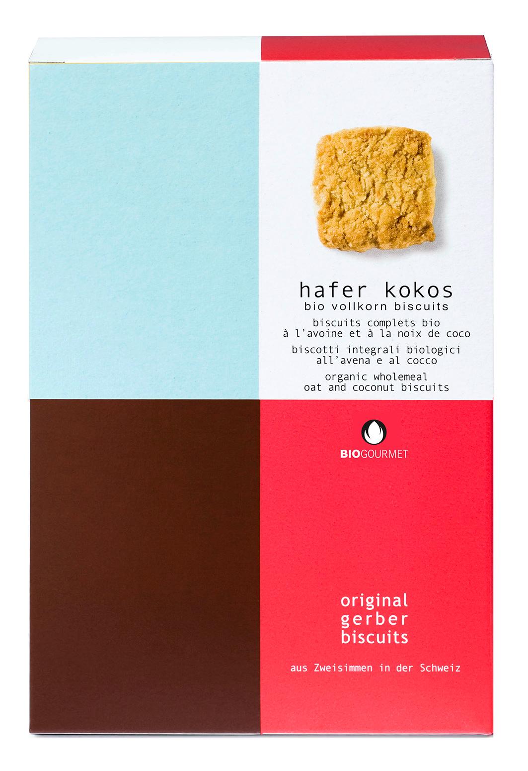 Bio Hafer Kokos Biscuits