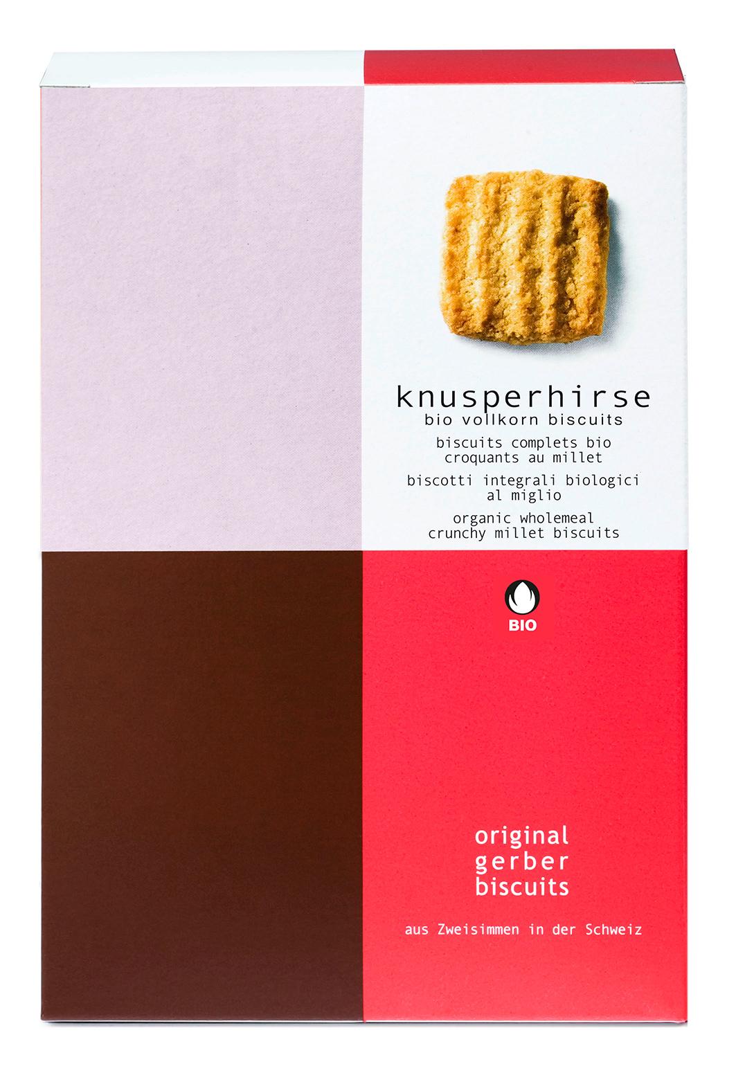 Bio Knusperhirse Biscuits