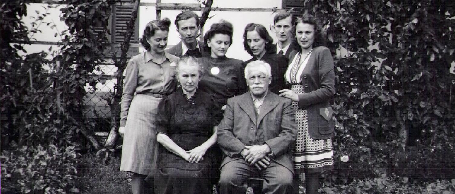 Familie Karl Gerber im Jahr 1942
