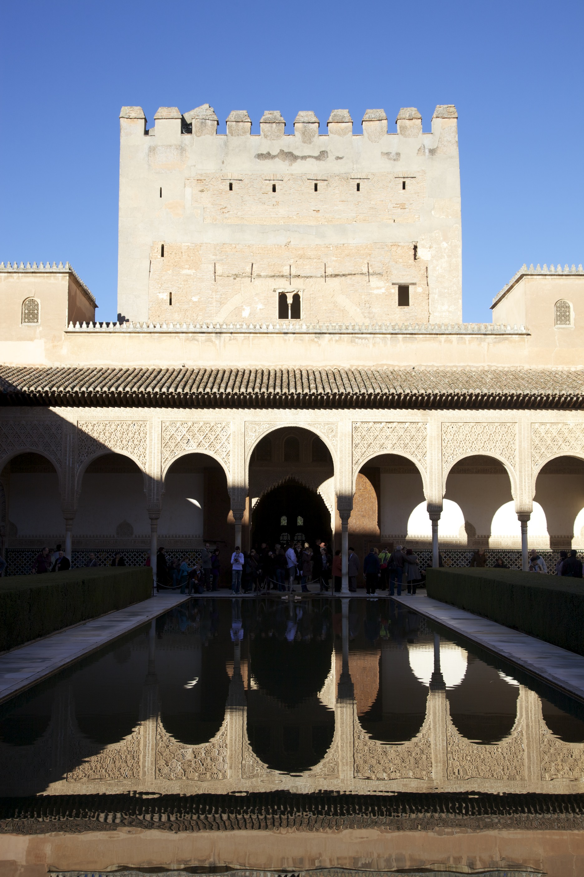 Today at the Alhambra (in Granada).