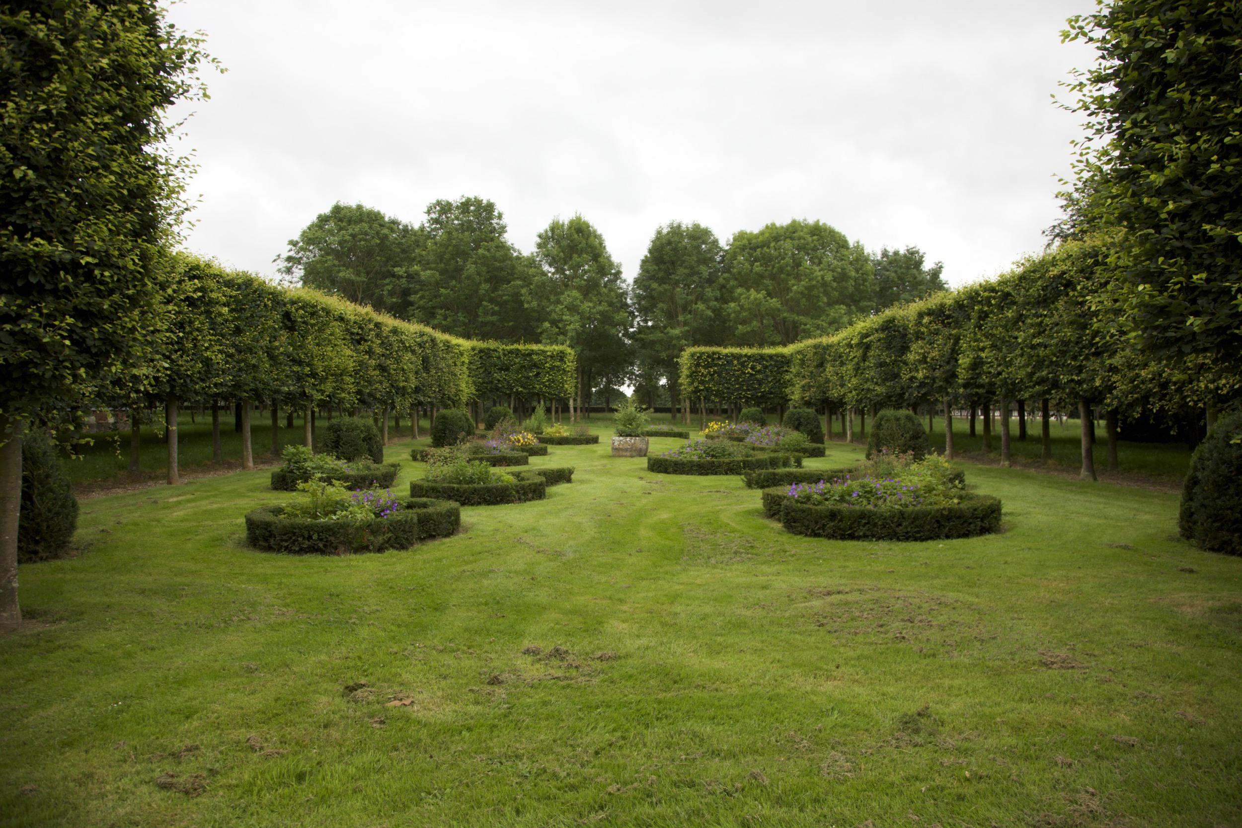 One of Eléonore's gardens in Normandie.