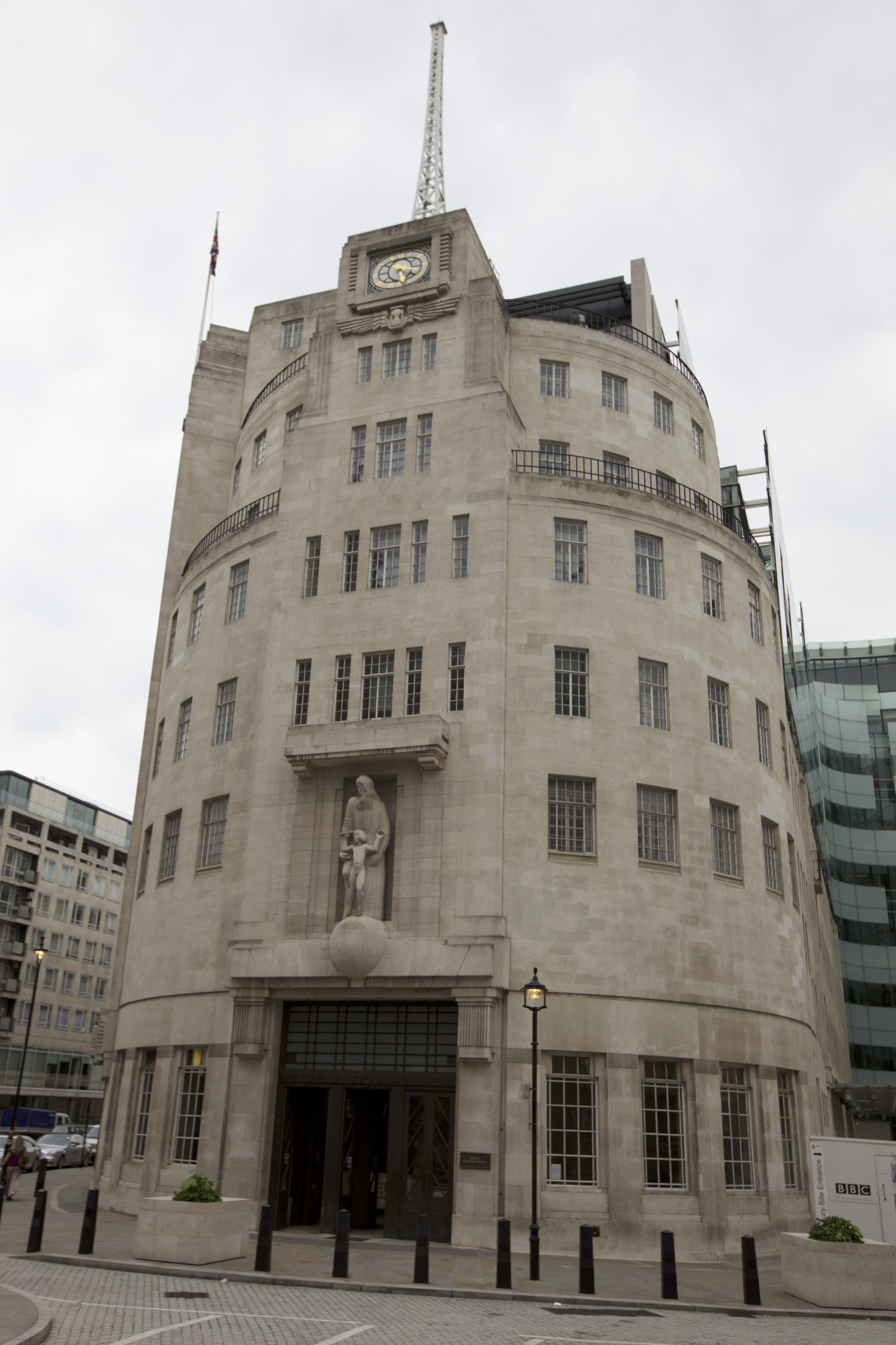 BBC Broadcasting House, the first purpose-built radio broadcast building in the world.