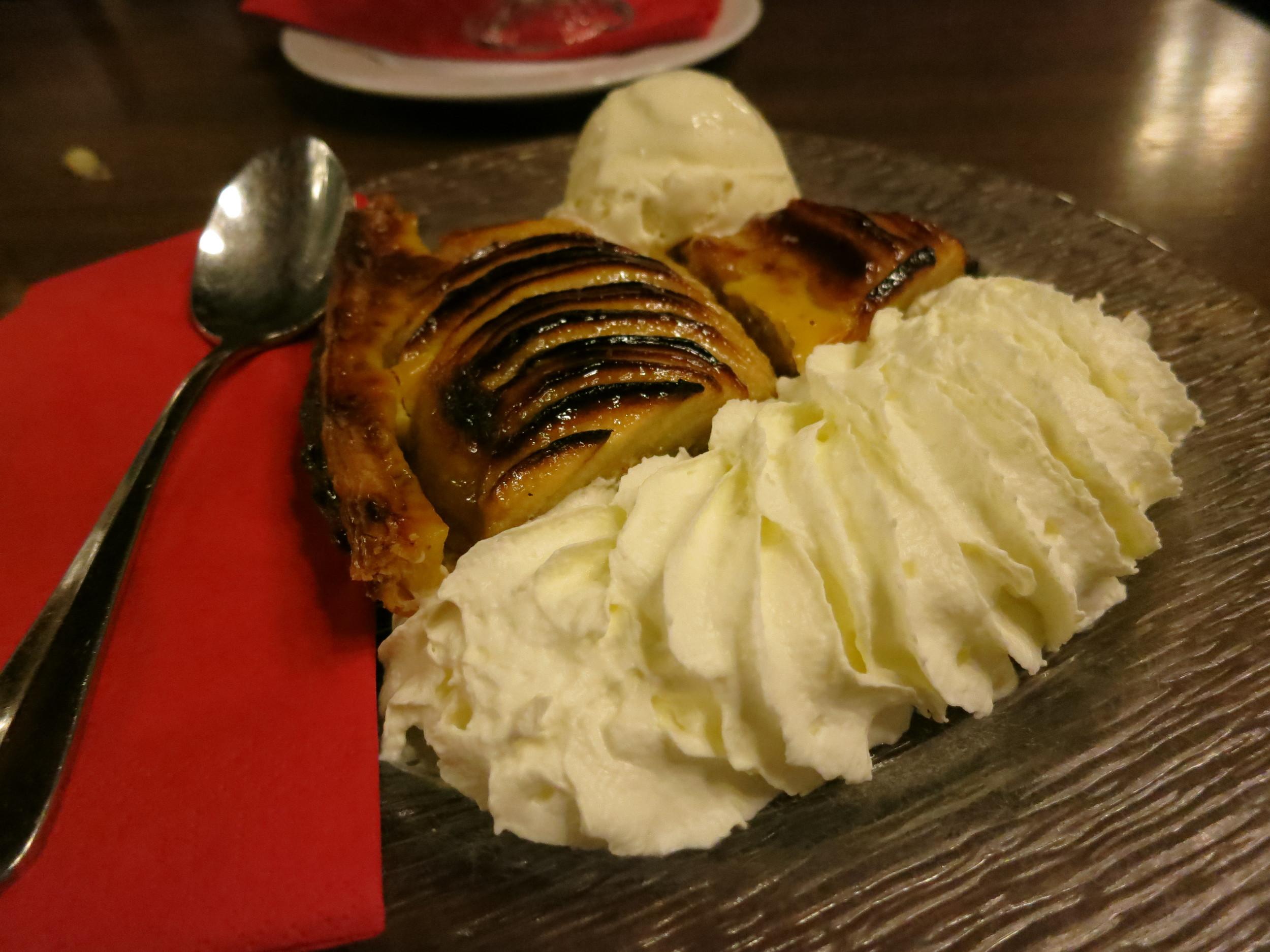 The most amazing apple pie I've ever had.