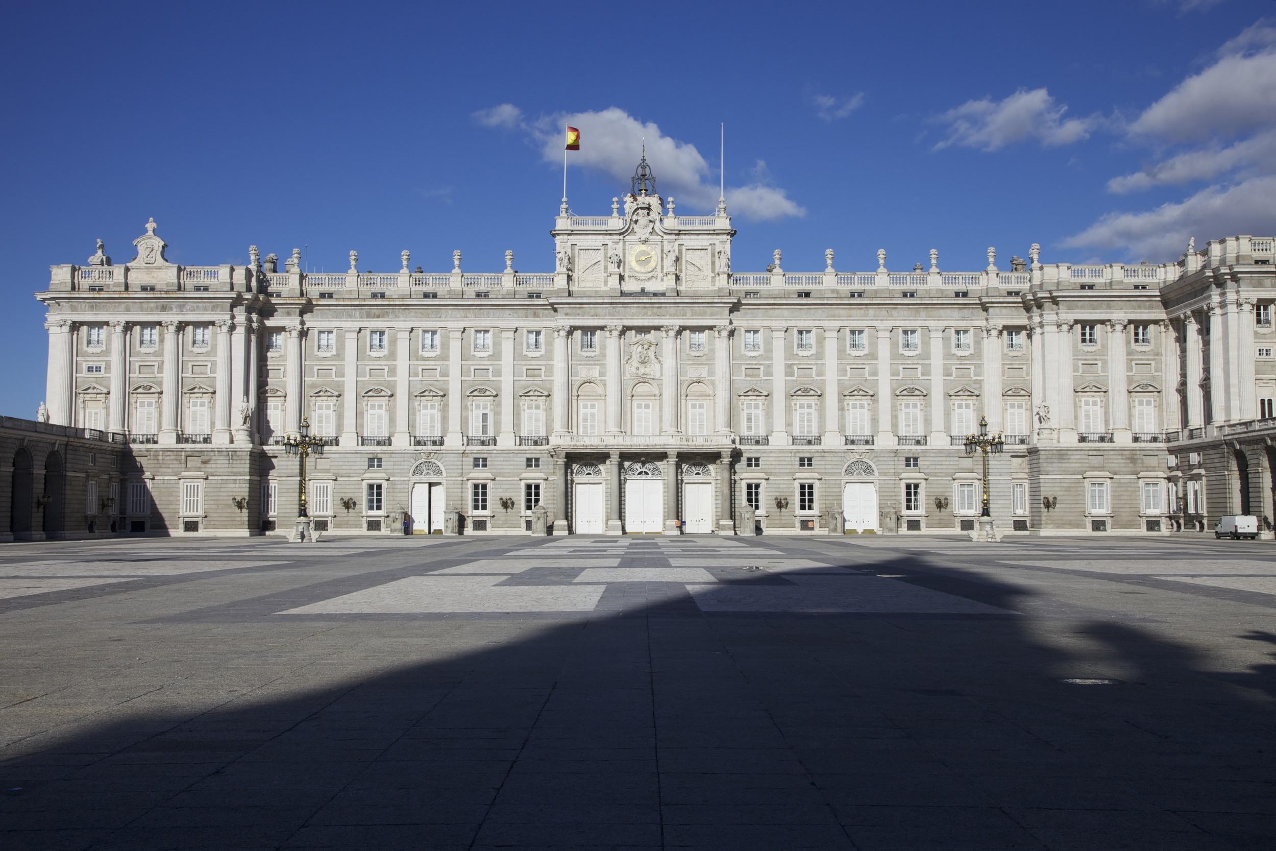 Palacio Real in Madríd.
