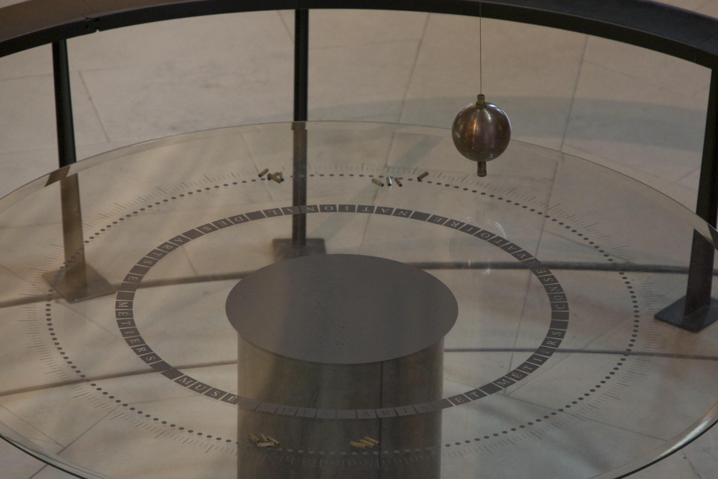 Foucalt's Pendulum at the Musée des Arts et Metiers.