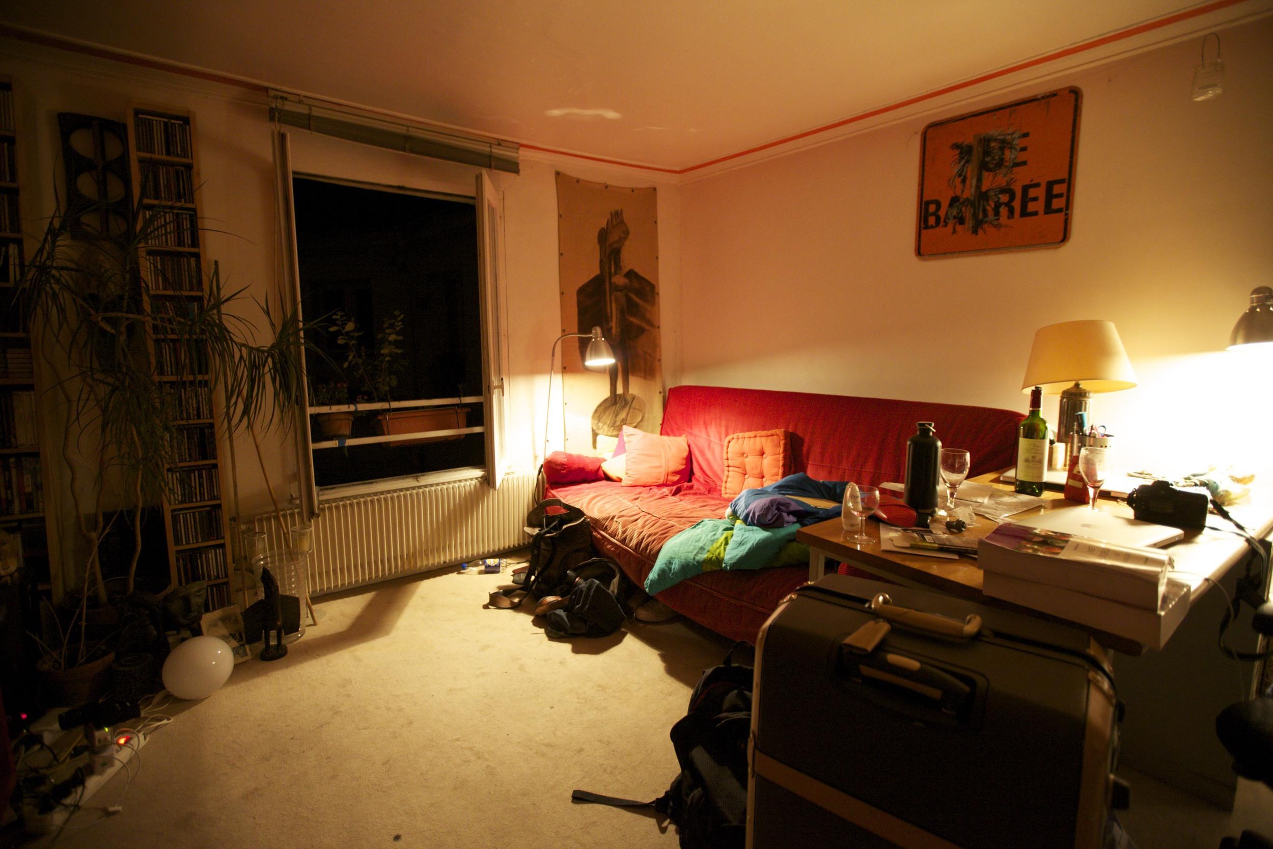 The Apartment.