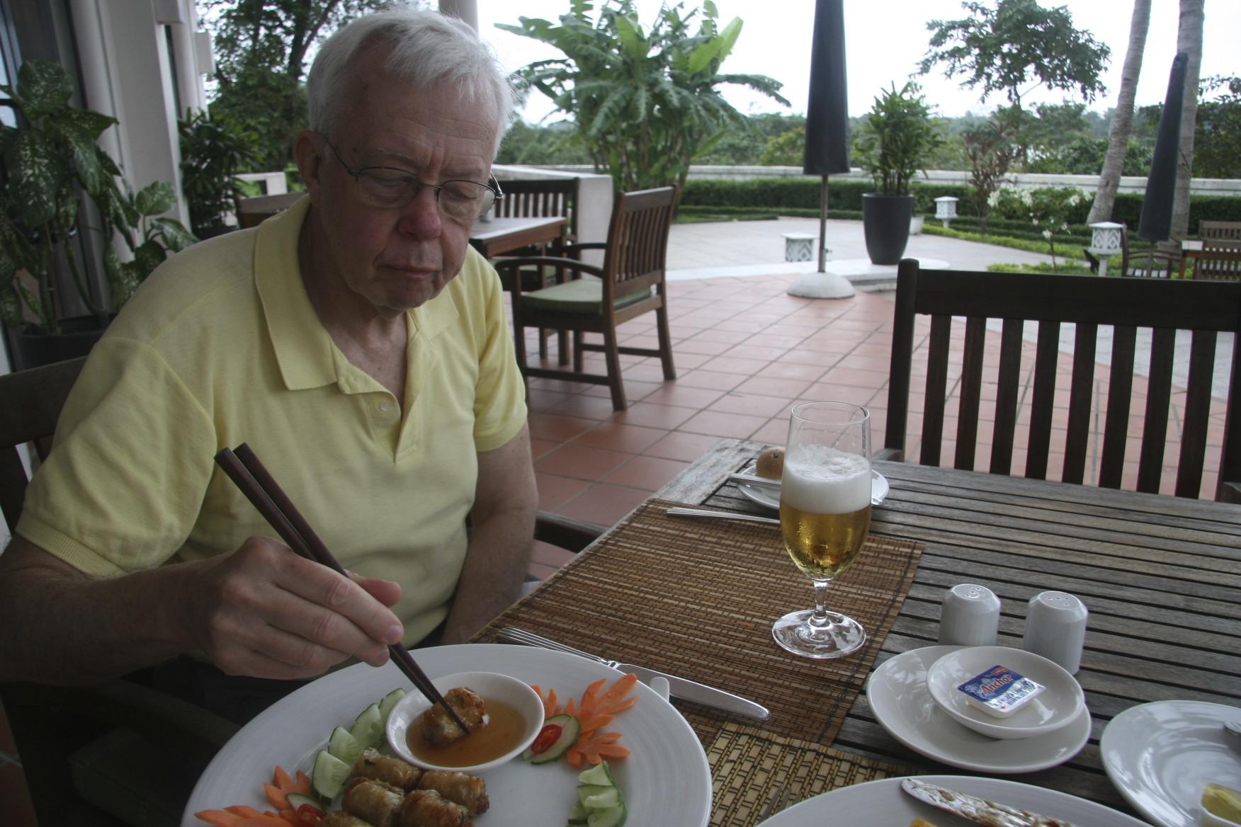 Last meal in Hue.
