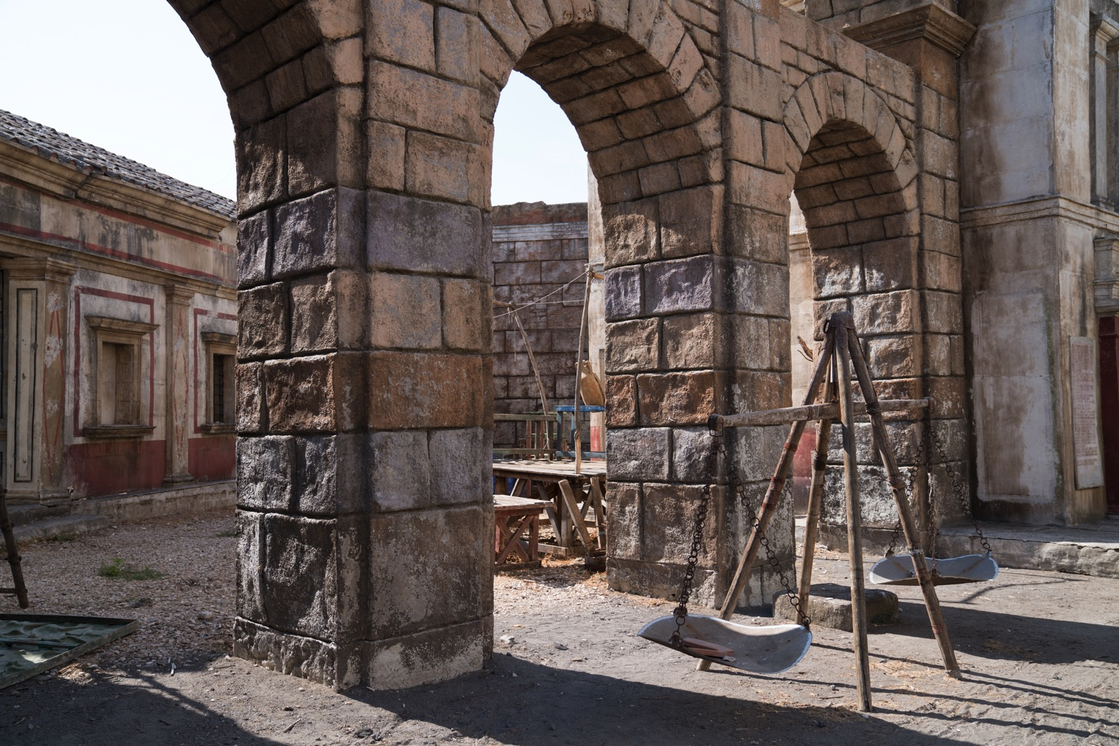 "More of the set from HBO's ""Rome.""   (Rome, Lazio, Italy.)"