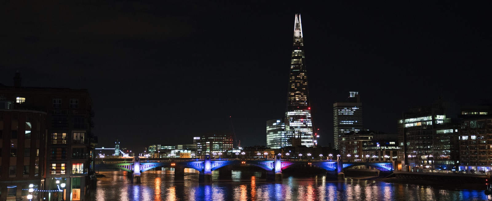The London skyline with The Shard, which may post-date most of your last visits to the city, as viewed from Millennium Bridge.   (London, United Kingdom.)