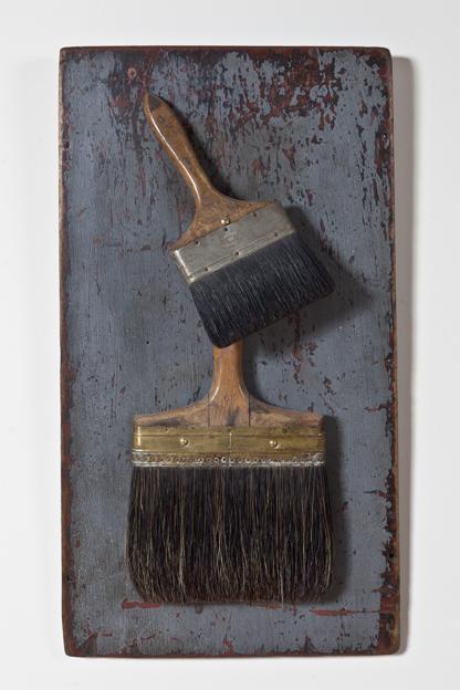 "Artist: John Sideli  Name: Homage to Jim Dine  Dimensions: 29"" x 16"" x 5"""