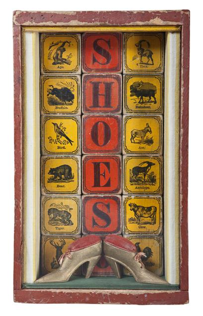"Artist: John Sideli  Name: Shoes  Dimensions: 20"" x 16"" x 2 3/4"""