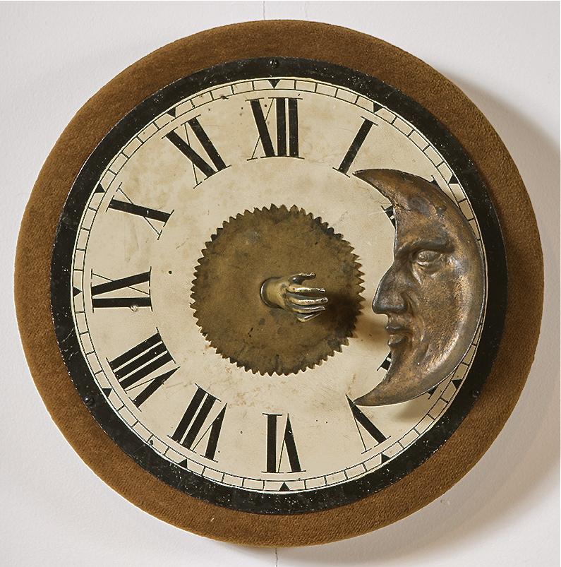 "Artist: John Sideli  Name:Age of Reason  Dimensions: 13 1/2"" diameter x 6""'"