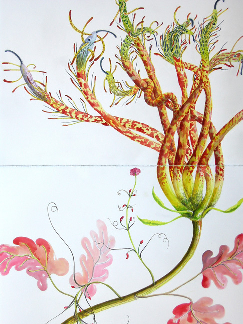 "Artist: Vico Fabbris  Name: Medusa Tendralis  Dimensions: 44"" x 30"""