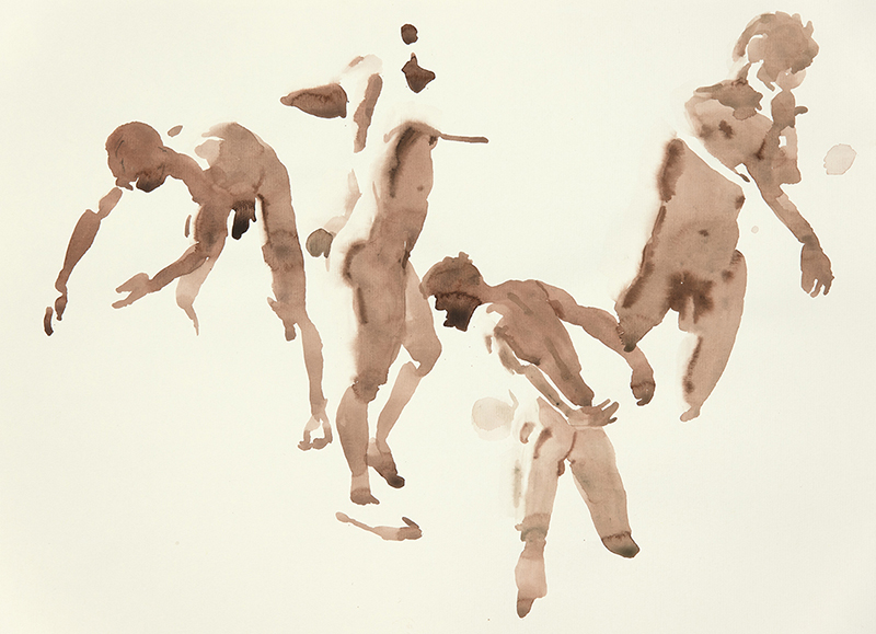 "Artist: Wendy Artin  Title: Giuseppe (4)  Date: 2016  Size: 5"" x 7 5/6""  Method: Watercolor  Price:  Inquire"