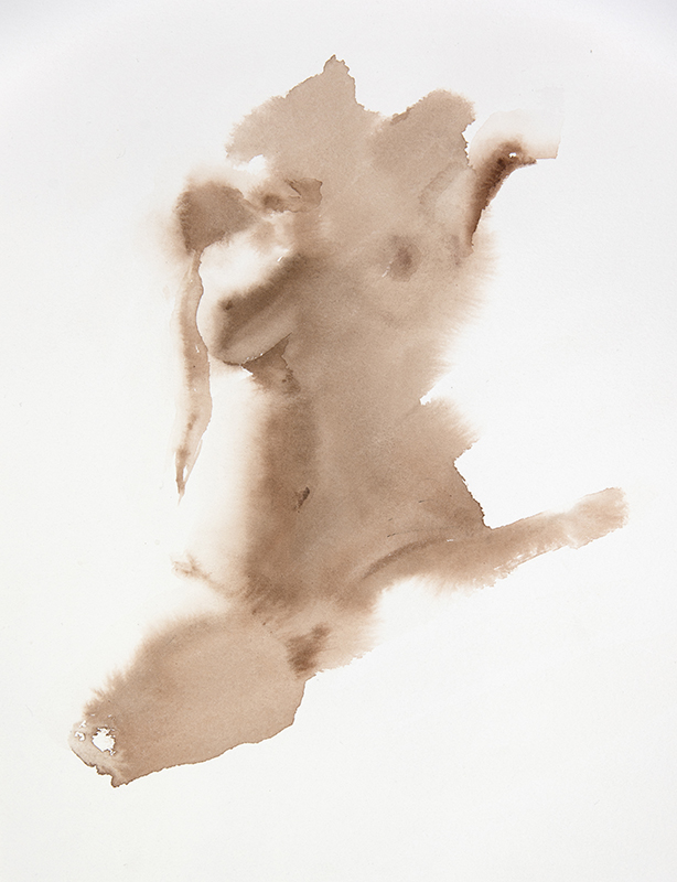 "Artist: Wendy Artin  Title: Sarah  Date: 2016  Size: 10"" x 13""  Method: Watercolor  Price:  Inquire"