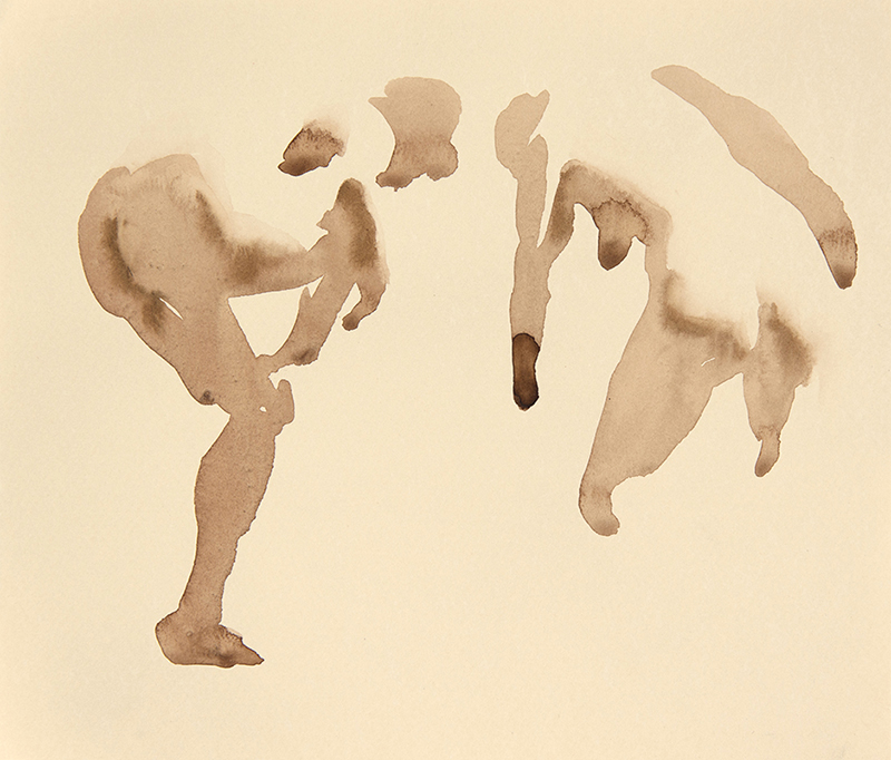 "Artist: Wendy Artin  Title: Model Quick and Wet  Date: 2017  Size: 8"" x 9""  Method: Watercolor  Price:  Inquire"